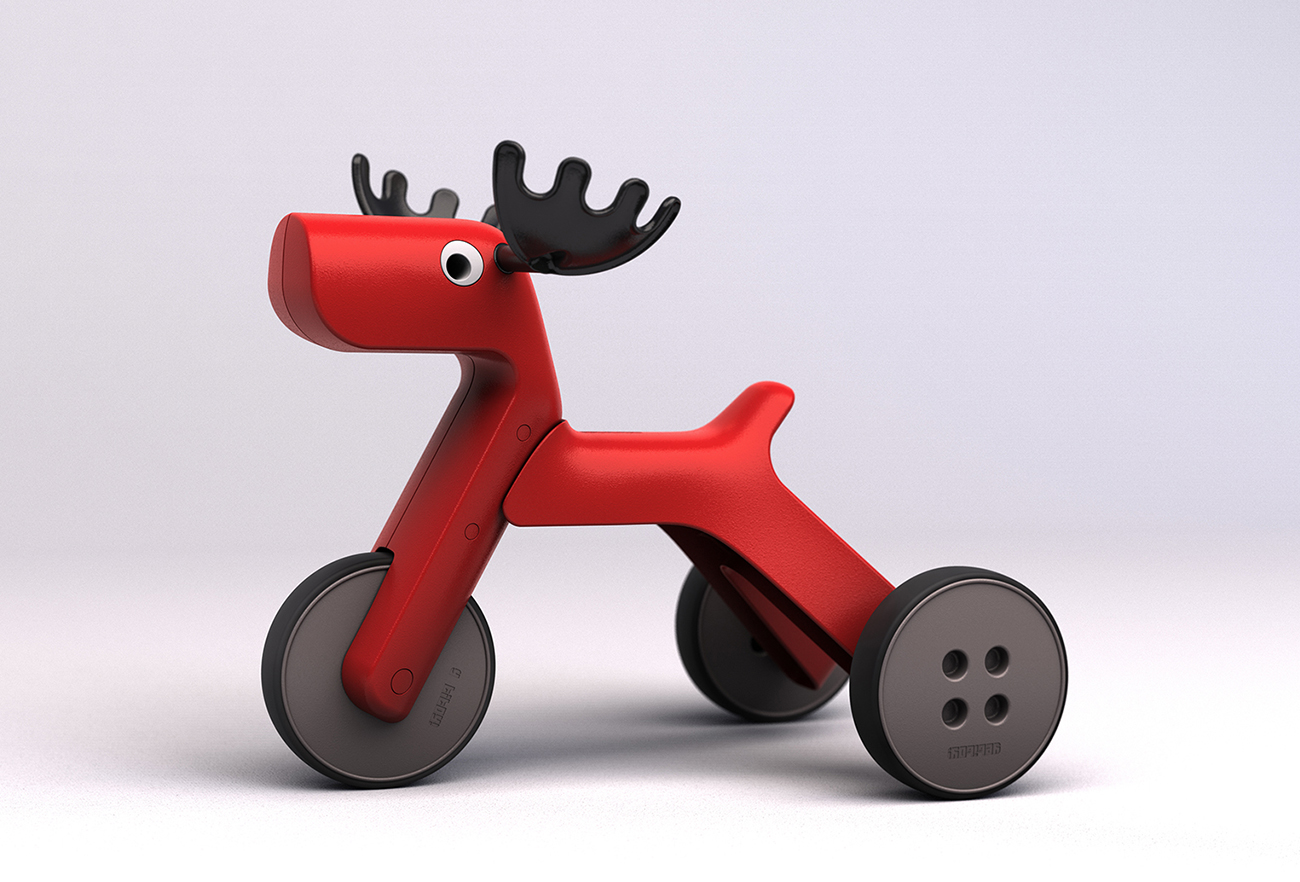 Yetitoy - The integrative tricycle doll | David Altit & Daniel Leibovics - Studio DADA