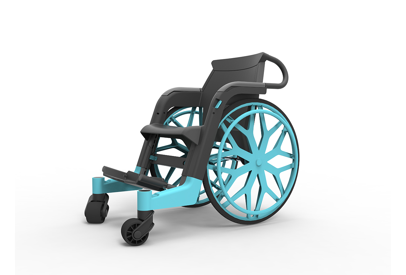 Affordable Wheelchair | David Altit & Daniel Leibovics - Studio DADA, Tel Aviv
