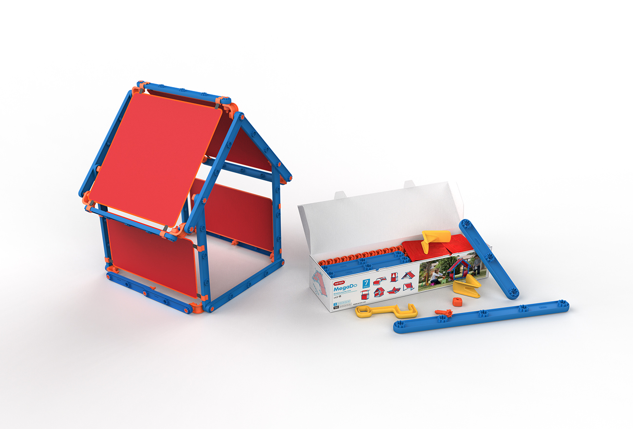 The Keter Megado Playhouse | Designed by Studio Dada