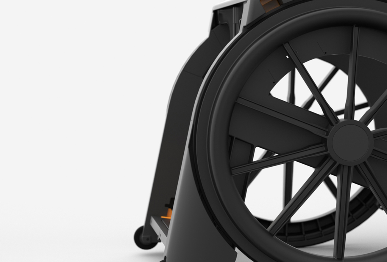 The Seatara Wheelable Wheelchair | Designed by Studio Dada
