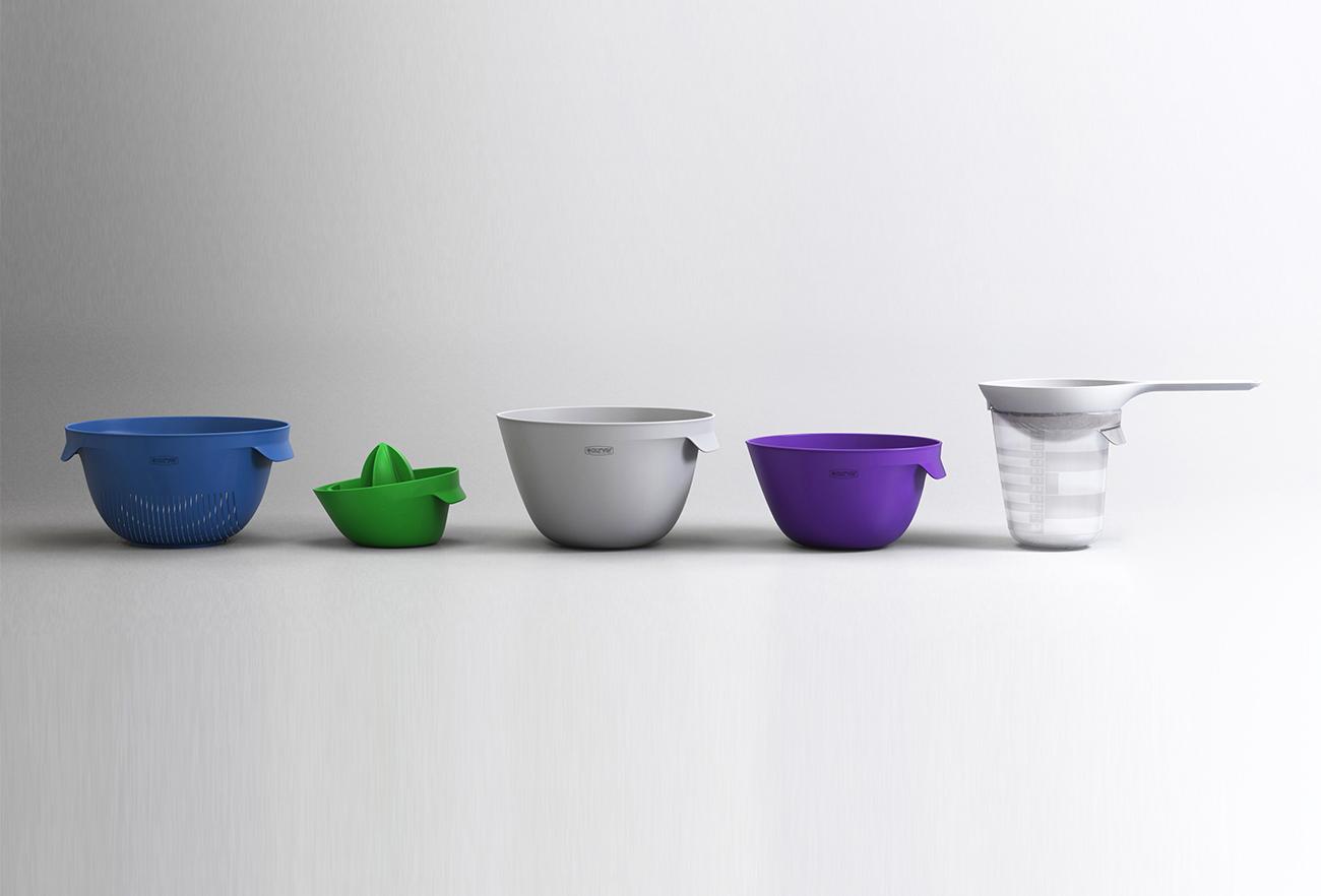 All colors: Curver kitchen tools | Studio Dada