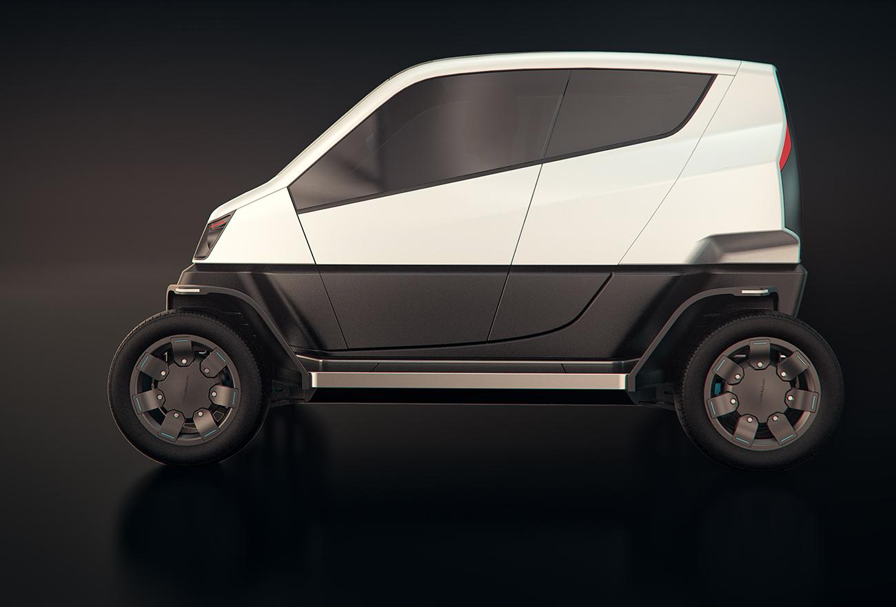City Transformer - The Folding Car | David Altit & Daniel Leibovics - Studio DADA, Tel Aviv
