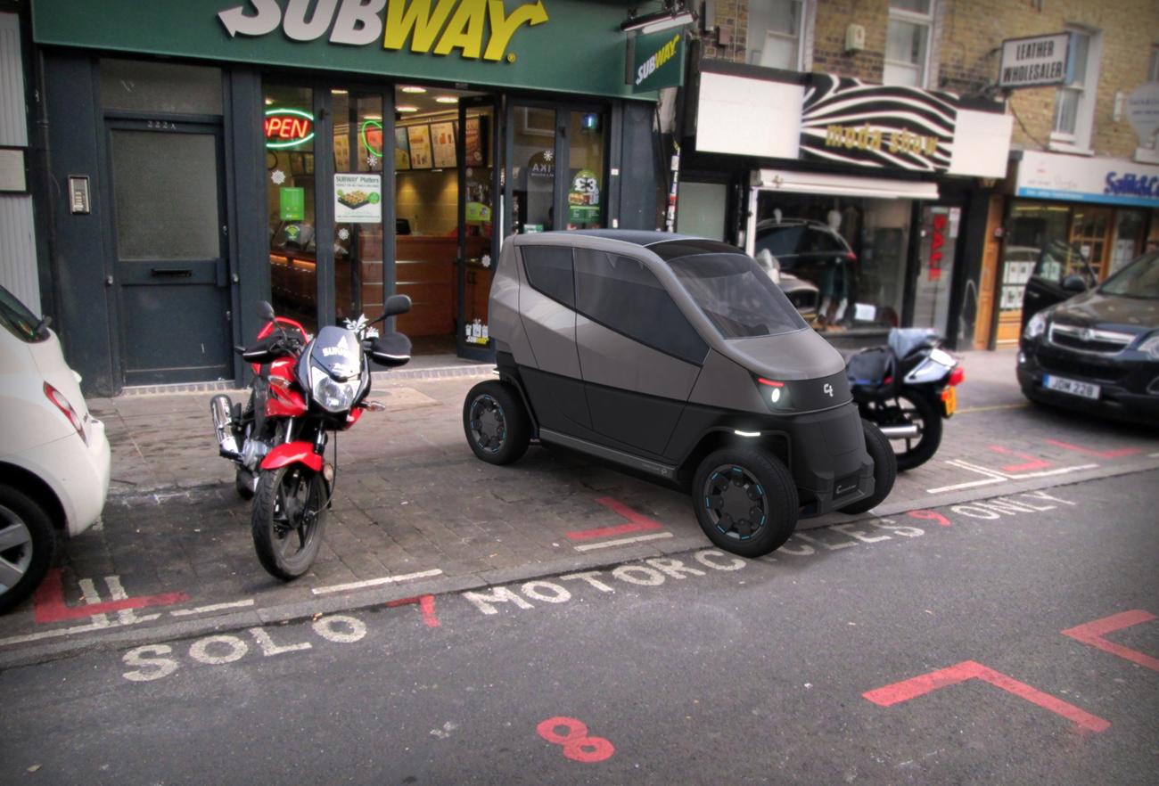 City Transformer - The Folding Car | Designed by Studio Dada