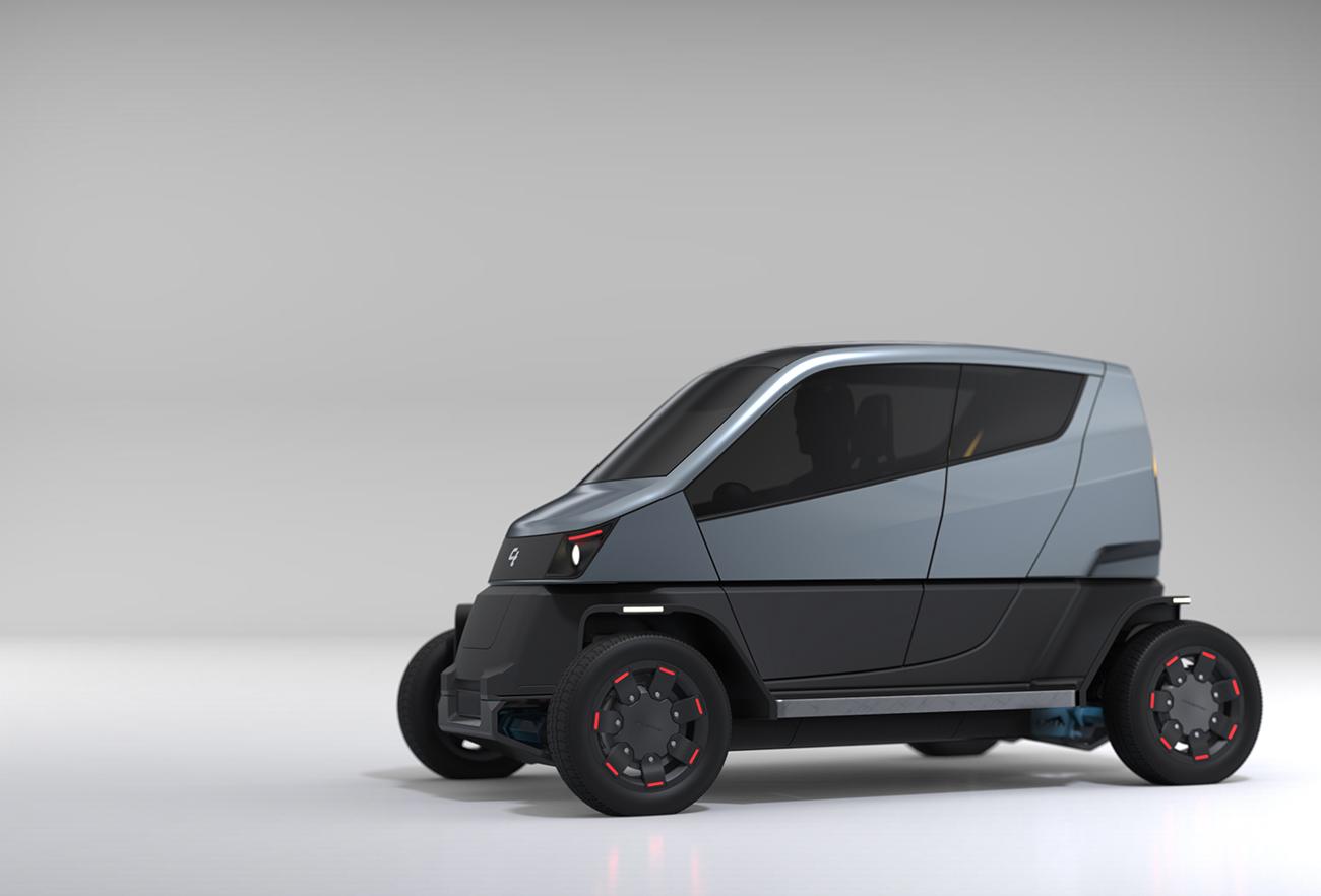 City Transformer - The Folding Car | Designed by Studio Dada - Product Design