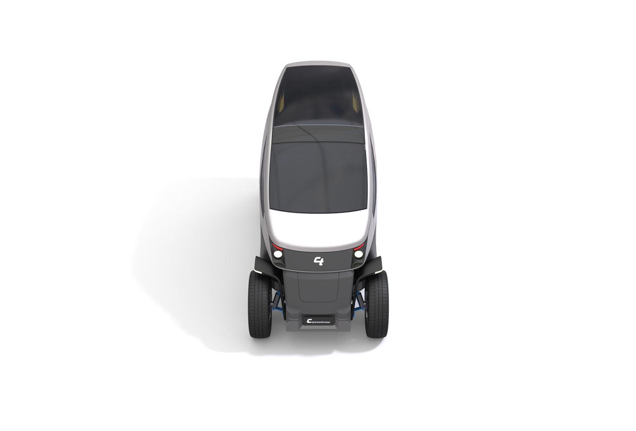 City Transformer - The Folding Car | Studio Dada - Innovative, Award winning products design house in Tel Aviv