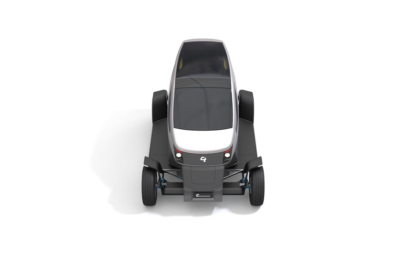 City Transformer - The Folding Car | Studio Dada