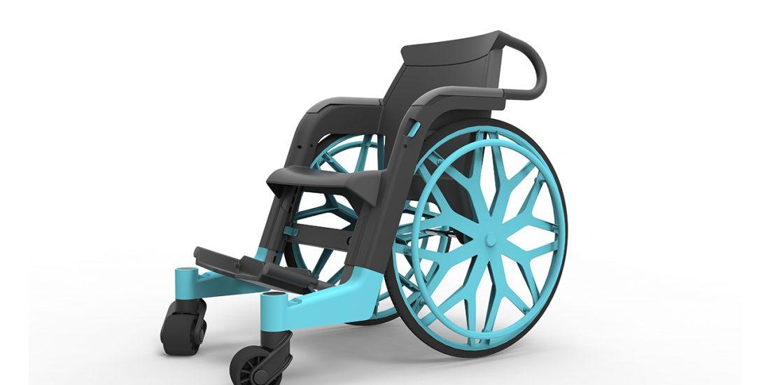 Affordable Wheelchair | David Altit & Daniel Leibovics - Studio DADA, Tel Aviv
