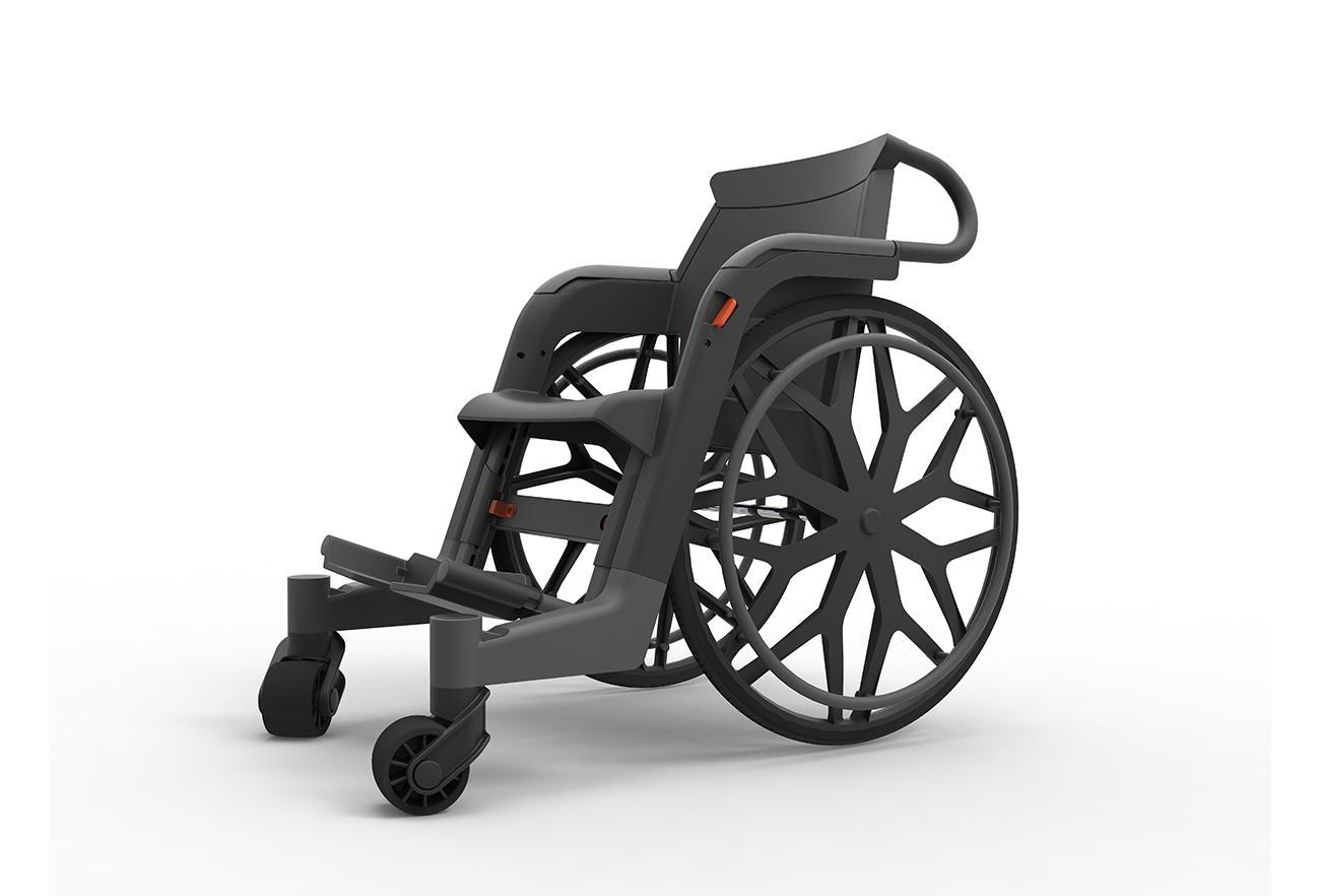 Affordable Wheelchair, Studio Dada Design