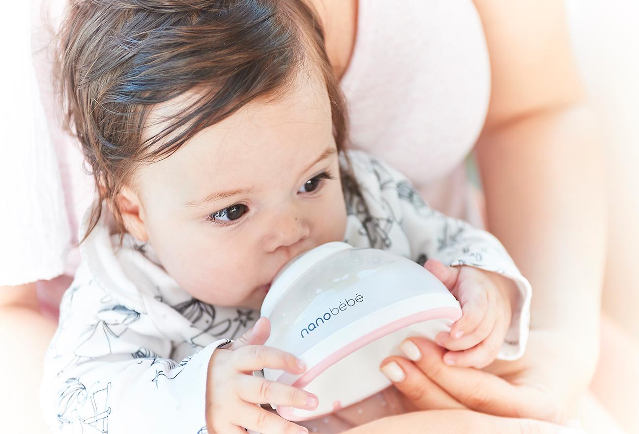 Nanobebe Baby Bottle - The breastmilk bottle | Studio Dada - Innovative products design house in Tel Aviv