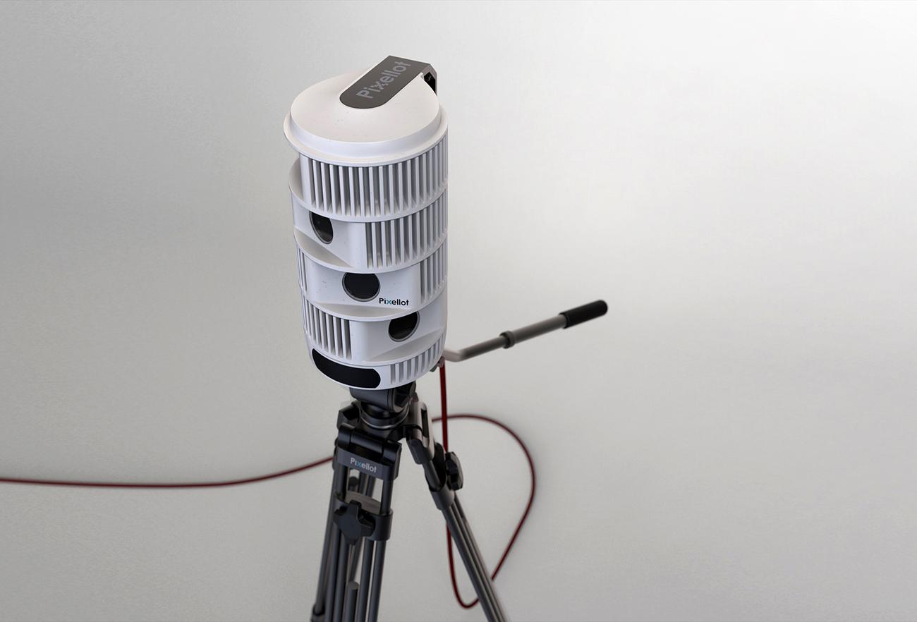 Pixellot - Unmanned Multi-Camera System | Designed by Studio Dada